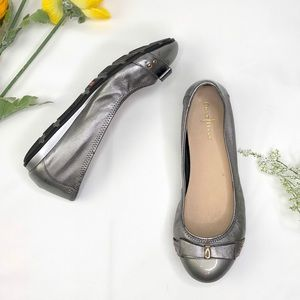 Cole Haan Nike Air Monica Metallic Ballet Flats